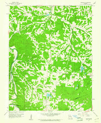 Download a high-resolution, GPS-compatible USGS topo map for Vineland, MO (1961 edition)