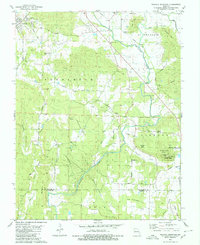 Download a high-resolution, GPS-compatible USGS topo map for Wachita Mountain, MO (1980 edition)