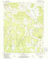 Download a high-resolution, GPS-compatible USGS topo map for Wachita Mountain, MO (1986 edition)