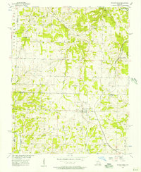 Download a high-resolution, GPS-compatible USGS topo map for Walnut Grove, MO (1957 edition)