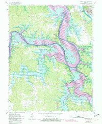 Download a high-resolution, GPS-compatible USGS topo map for Warsaw West, MO (1982 edition)