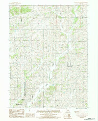 Download a high-resolution, GPS-compatible USGS topo map for Washington Center, MO (1985 edition)