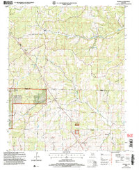Download a high-resolution, GPS-compatible USGS topo map for Wasola, MO (2006 edition)