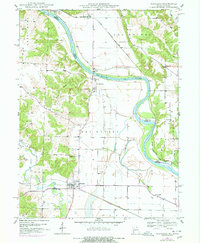 Download a high-resolution, GPS-compatible USGS topo map for Wayland, MO (1977 edition)