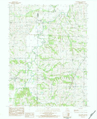 Download a high-resolution, GPS-compatible USGS topo map for Weatherby, MO (1984 edition)