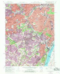 Download a high-resolution, GPS-compatible USGS topo map for Webster Groves, MO (1969 edition)