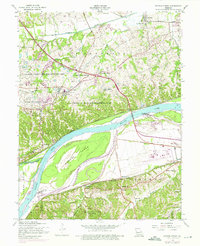 Download a high-resolution, GPS-compatible USGS topo map for Weldon Spring, MO (1975 edition)