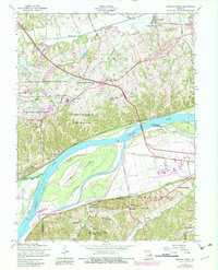 Download a high-resolution, GPS-compatible USGS topo map for Weldon Spring, MO (1982 edition)