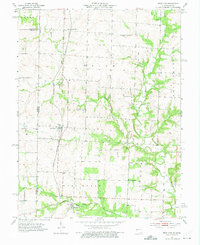 Download a high-resolution, GPS-compatible USGS topo map for West Line, MO (1975 edition)