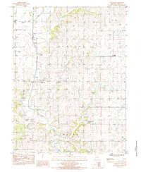 Download a high-resolution, GPS-compatible USGS topo map for Whitesville, MO (1985 edition)