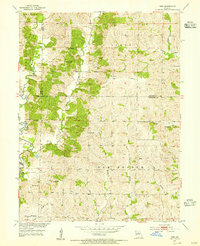 Download a high-resolution, GPS-compatible USGS topo map for Wien, MO (1955 edition)
