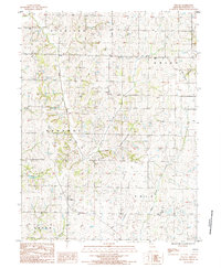 Download a high-resolution, GPS-compatible USGS topo map for Wilcox, MO (1985 edition)