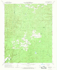Download a high-resolution, GPS-compatible USGS topo map for Wilderness, MO (1969 edition)