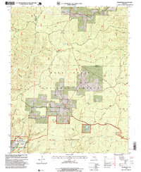 Download a high-resolution, GPS-compatible USGS topo map for Wilderness, MO (1999 edition)