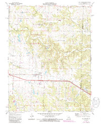Download a high-resolution, GPS-compatible USGS topo map for Williamsburg, MO (1986 edition)