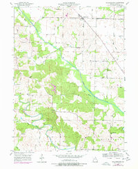 Download a high-resolution, GPS-compatible USGS topo map for Williamstown, MO (1977 edition)