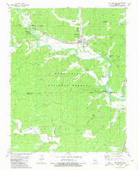 Download a high-resolution, GPS-compatible USGS topo map for Williamsville, MO (1980 edition)