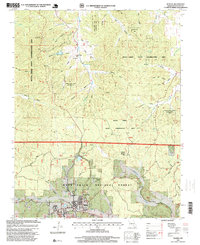 Download a high-resolution, GPS-compatible USGS topo map for Winona, MO (1999 edition)