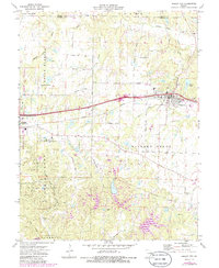 Download a high-resolution, GPS-compatible USGS topo map for Wright City, MO (1986 edition)