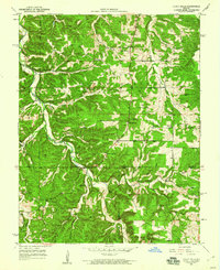 Download a high-resolution, GPS-compatible USGS topo map for Yancy Mills, MO (1960 edition)