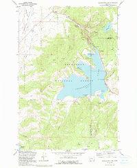georgetown lake mt map Usgs 1 24000 Scale Quadrangle For Georgetown Lake Mt 1971 Data Gov georgetown lake mt map