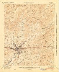 Usgs 1 24000 Scale Quadrangle For Canton Nc 1942 Sciencebase Catalog