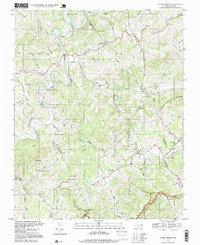 Laurel Springs Nc Map.Usgs 1 24000 Scale Quadrangle For Laurel Springs Nc 1996