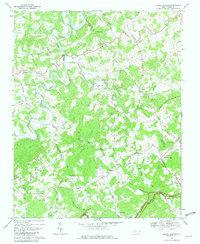 Laurel Springs Nc Map.Usgs 1 24000 Scale Quadrangle For Laurel Springs Nc 1968