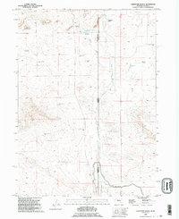 USGS 1:24000-scale Quadrangle for Carpenter Ranch, NE 1990