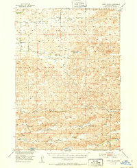 USGS 1:62500-scale Quadrangle for Gypsy Valley, NE 1951