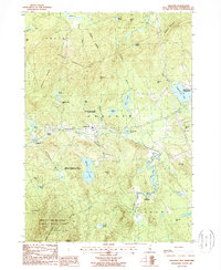 Download a high-resolution, GPS-compatible USGS topo map for Andover, NH (1987 edition)