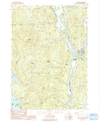 Download a high-resolution, GPS-compatible USGS topo map for Ashland, NH (1987 edition)