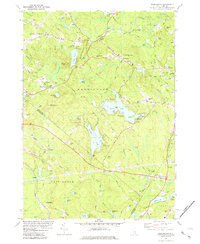 Download a high-resolution, GPS-compatible USGS topo map for Barrington, NH (1987 edition)