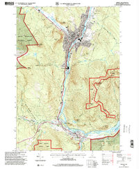 Download a high-resolution, GPS-compatible USGS topo map for Berlin, NH (2001 edition)