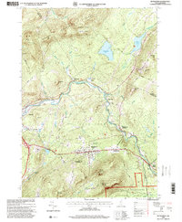 Download a high-resolution, GPS-compatible USGS topo map for Bethlehem, NH (2000 edition)