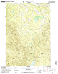 Download a high-resolution, GPS-compatible USGS topo map for Blue Mountain, NH (2000 edition)