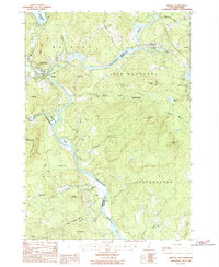 Download a high-resolution, GPS-compatible USGS topo map for Bristol, NH (1987 edition)