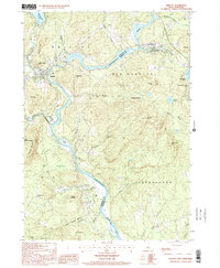 Download a high-resolution, GPS-compatible USGS topo map for Bristol, NH (2001 edition)