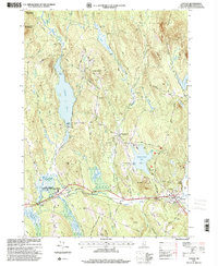 Download a high-resolution, GPS-compatible USGS topo map for Canaan, NH (2001 edition)