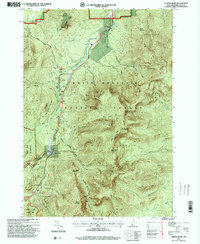 Download a high-resolution, GPS-compatible USGS topo map for Carter Dome, NH (2000 edition)
