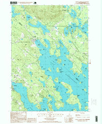 Download a high-resolution, GPS-compatible USGS topo map for Center Harbor, NH (1999 edition)