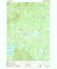 Download a high-resolution, GPS-compatible USGS topo map for Center Sandwich, NH (1987 edition)