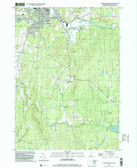 Download a high-resolution, GPS-compatible USGS topo map for Claremont South, NH (2002 edition)