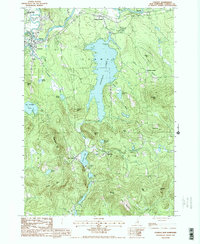 Download a high-resolution, GPS-compatible USGS topo map for Conway, NH (1987 edition)