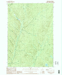 Download a high-resolution, GPS-compatible USGS topo map for Cowen Hill, NH (1989 edition)