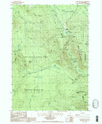 Download a high-resolution, GPS-compatible USGS topo map for Crawford Notch, NH (1987 edition)