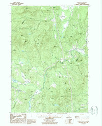Download a high-resolution, GPS-compatible USGS topo map for Danbury, NH (1987 edition)