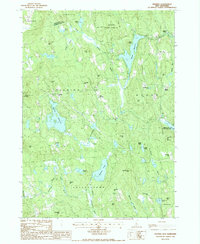 Download a high-resolution, GPS-compatible USGS topo map for Deering, NH (1987 edition)