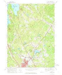 Download a high-resolution, GPS-compatible USGS topo map for Derry, NH (1971 edition)