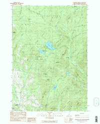 Download a high-resolution, GPS-compatible USGS topo map for Diamond Pond, NH (1989 edition)